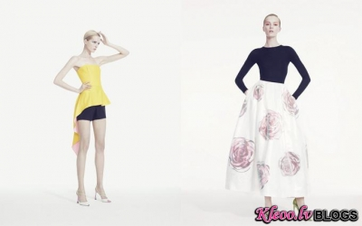 Dior katalogā Bergdorf Goodman.