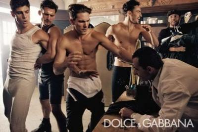 Vīriešu kostīma izveidošana no Dolce & Gabbana