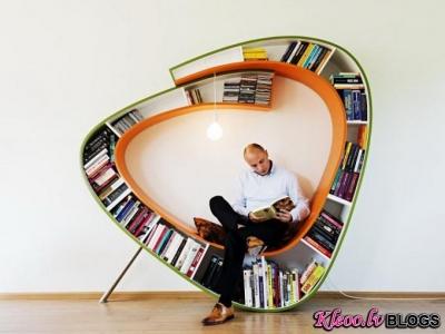 Plaukts - krēsls no  Atelier010.