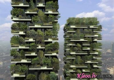 Многоэтажный лес в городе