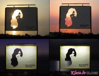 Labākie paraugi no āra reklāmas