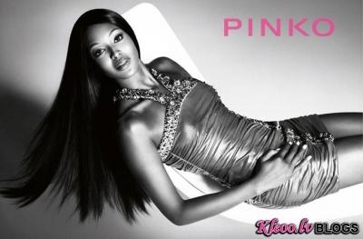 Pinko kolekcijas reklāma.