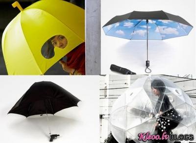 Lietussargu mode.