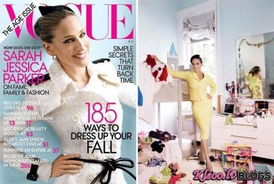 Sarah Jessica Parker žurnālā Vogue US.