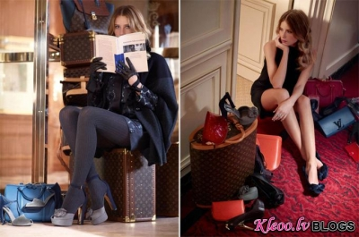 No kataloga pre-fall 2013 Louis Vuitton .
