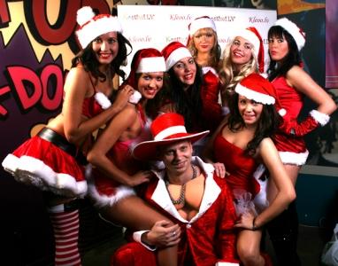 Foto no Kostimi.lv Ziemassvētku tērpu prezentācijas