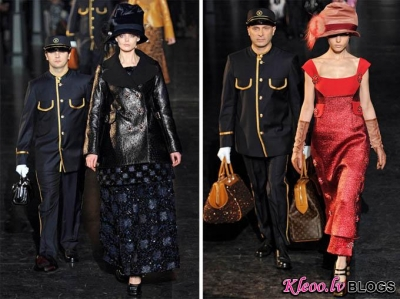 Paris Fashion Week: Louis Vuitton rudens 2012.