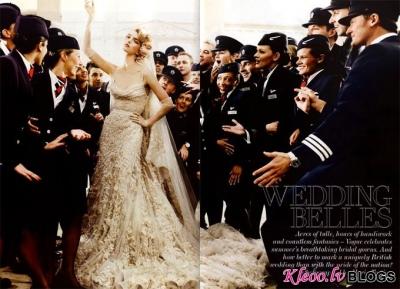 Līgavas  Vogue UK.
