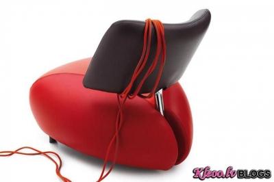 Krēsli Pallone no Leolux.