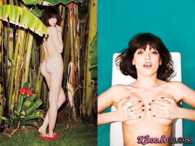Daisy Lowe augusta Playboy numurā.