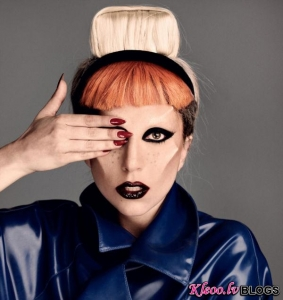 Lady Gaga priekš  i-D.