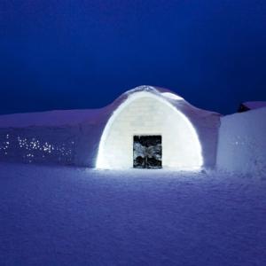 Ledus viesnīca Zviedrijā