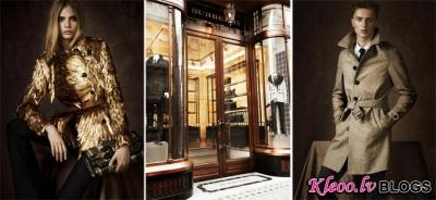 Kolekcija Burberry Prorsum Regent Street .