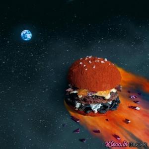 Kolāžas un foto - burgeri.