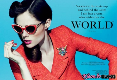 Glass magazine.