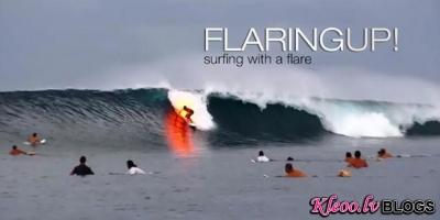 Sērfings ar uguni..