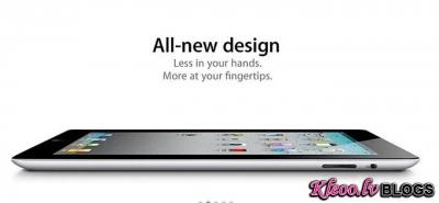 Apple prezentācija:jaunais iPad 2.