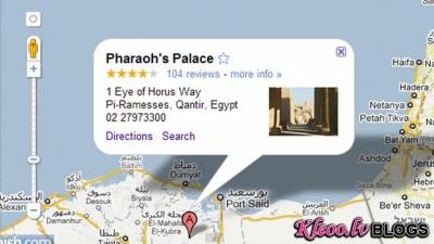 Google Maps помог Моисею в его путешествии