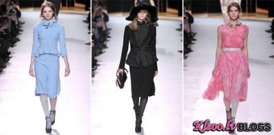 Modes nedēļa Parīzē: Nina Ricci Fall 2011
