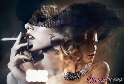 Ginta Lapiņa fotosesijā Vogue Russia.