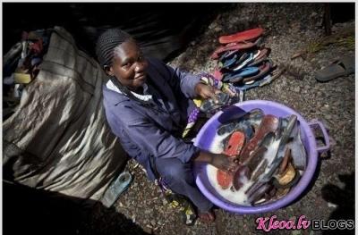 Необычное производство африканцев
