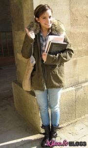 Эмма Уотсон поступила в Оксфорд