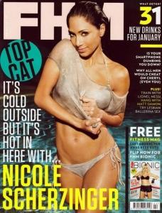 Nicole Scherzinger FHM žurnālā Februāris 2011.