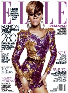 Rihanna – Elle žurnālā jūlijs 2010