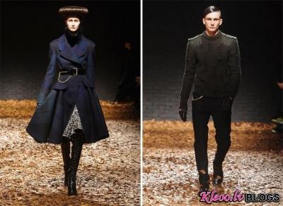 London Fashion Week: McQ rudens 2012 .