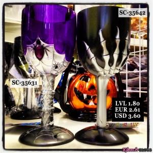 Glāzes Helovīnu naktij