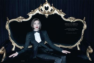 Margareth Madè priekš Dolce & Gabbana
