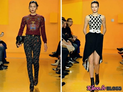 Paris Fashion Week: Kenzo rudens 2012 .