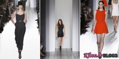 New York Fashion week: Victoria Beckham pavasaris - vasara 2013.