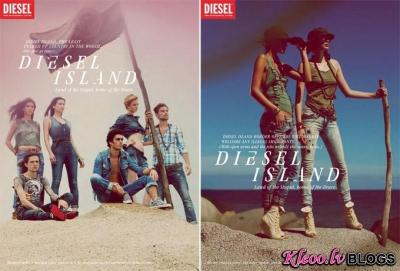 Diesel (rudens - ziema 2011-12) reklāmas kampaņa.