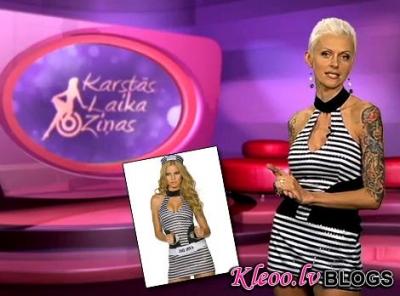 Kostimi.lv un TV6 Karstās laika ziņas
