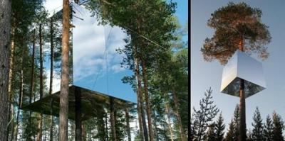 Spoguļu viesnīca Zviedrijā