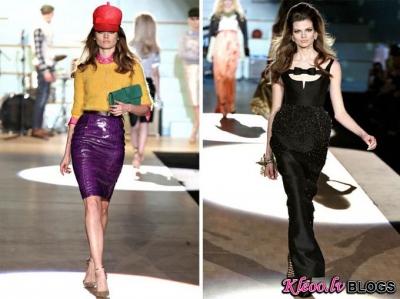 Milan Fashion Week: DSquared2 rudens 2012 .