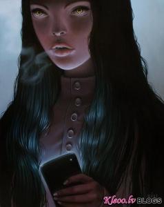 Māksliniece Sarah Joncas.