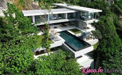 Villa Taizemē.