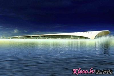 Проект аэропорта на Мальдивах