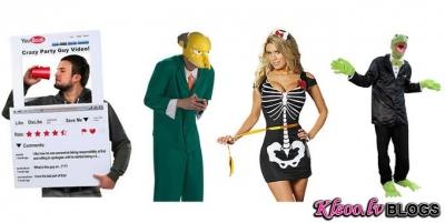 Helovīna kostīmu mode.