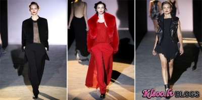 Modes nedēļa Parīzē: Hakaan Fall 2011