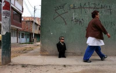 Самый маленький человек пока живет в Колумбии
