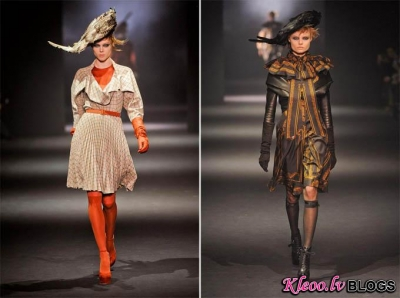 Paris Fashion Week: John Galliano rudens 2012 .