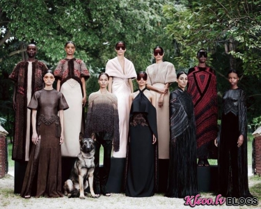 Paris Haute Couture Fashion Week: Givenchy rudens - ziema  2012-13 Couture .