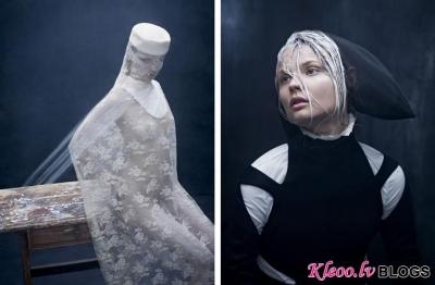 Magdalena Frackowiak fotosesijā žurnālam Dansk.