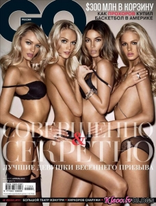 Victorias Secret modeles GQ žurnālā