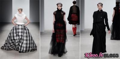 London Fashion Week: Corrie Nielsen rudens 2012.