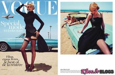 Fotosesija augusta Vogue Paris.