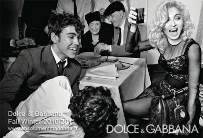 Madonna un Max Schneider priekš Dolce&Gabbana